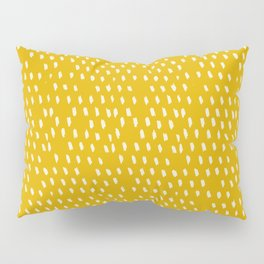 Yellow Modernist Pillow Sham