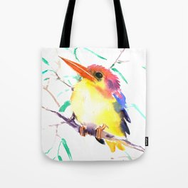 Oriental Kingfisher Tote Bag