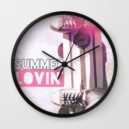 Summer Lovin' Wall Clock