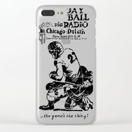 Chicago-Duluth-Radio Clear iPhone Case