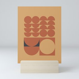 Brown Mini Art Print