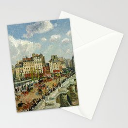 """Camille Pissarro """"The Pont-Neuf"""" Stationery Cards"""