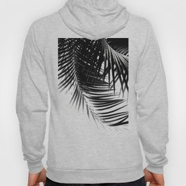 Palm Leaves Black & White Vibes #1 #tropical #decor #art #society6 Hoody