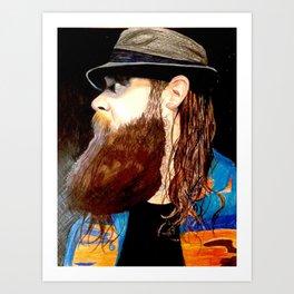 Bray Wyatt Art Print