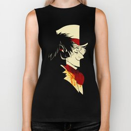 Jekyll and Hyde Silhouettes Biker Tank