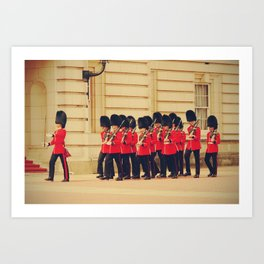 The Steadfast Tin Soldiers - Life in London Photography Art Print