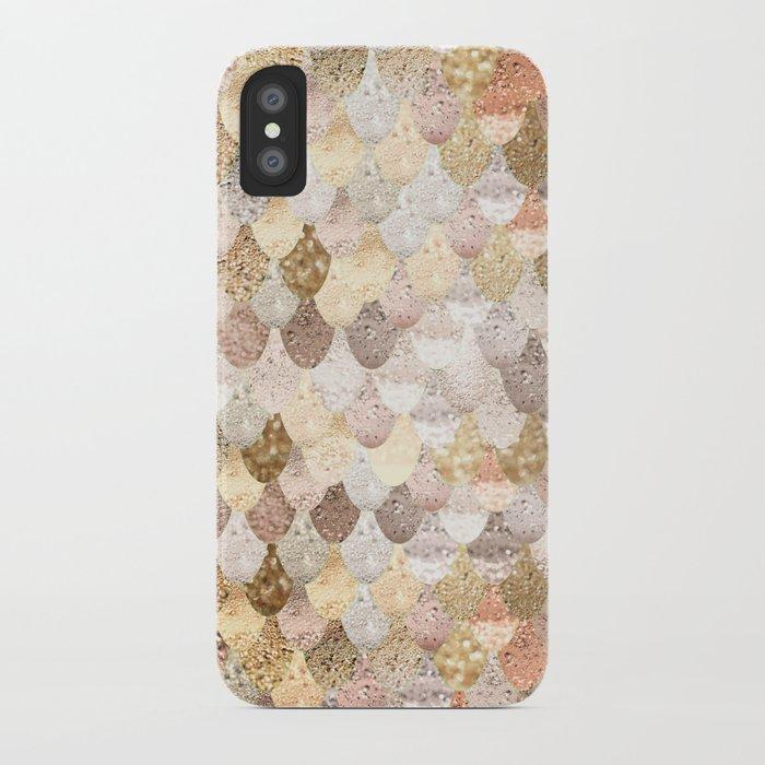 MERMAID GOLD iPhone Case