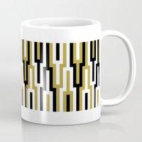 kilim Mugs featuring kilim 01 by Ioana Luscov