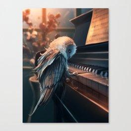 Piano Lesson Canvas Print