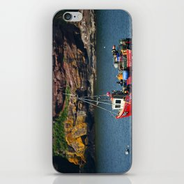 Little Red Boat iPhone Skin