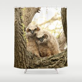 Rest your head on my shoulder Shower Curtain