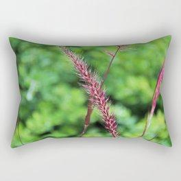 Purple Fountain Grass I Rectangular Pillow