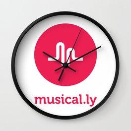 Musical ly Wall Clock