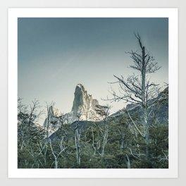 Fitz Roy Mountain, el Chalten - Patagonia - Argentina Art Print