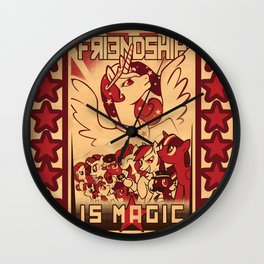 Friendship is Magic Wall Clock