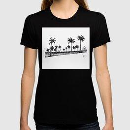Landscape where peace is present T-shirt