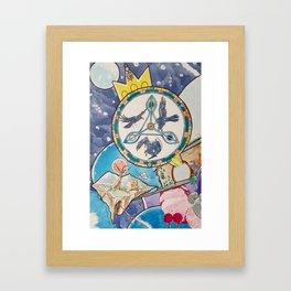 Three Ravens Wheel 2013 by Finn Graves Framed Art Print
