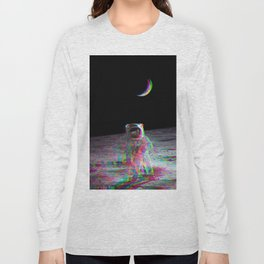 COLORFUL MOONS Long Sleeve T-shirt