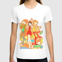 70s T-shirts featuring 70s Disco Fever by Little Cello