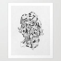 Art of Geometry 6 Art Print