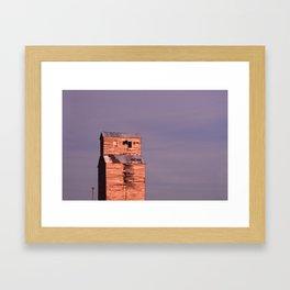 Comanche Sunset Framed Art Print