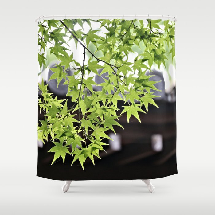 Leaf me to be Shower Curtain