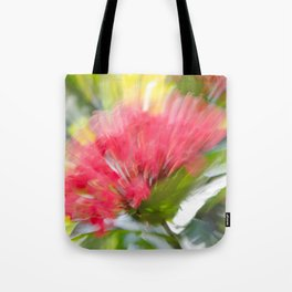 Flower Burst - Electric Magenta Tote Bag