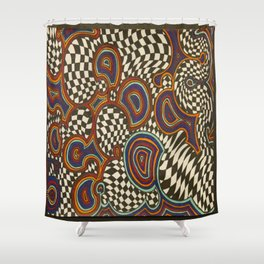Infinite Swirl Shower Curtain
