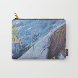 wind and waves grew calm Carry-All Pouch