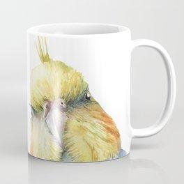 cockatiel in watercolor Coffee Mug