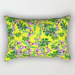 daisy yellow Rectangular Pillow