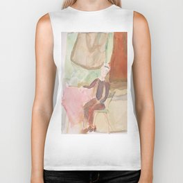 Figure with Watering Can Biker Tank