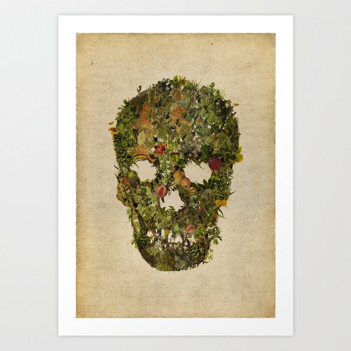 LIFE AND DEATH Art Print