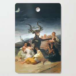 THE SABBATH OF THE WITCHES - GOYA Cutting Board
