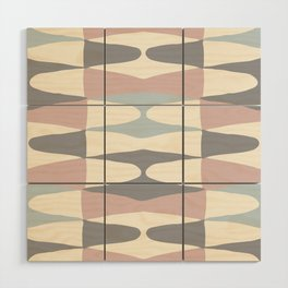 Zaha Pastel Wood Wall Art