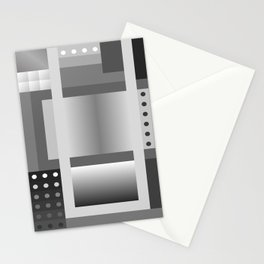 Crazy Pattern 2 - 50 Shades of grey Stationery Cards