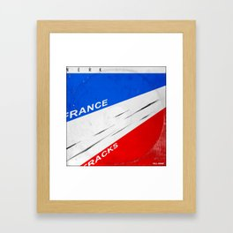 tour de france, all gone. Framed Art Print