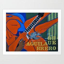 Guerrero Aguila Art Print