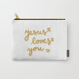 Jesus loves you Carry-All Pouch