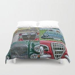 European Autos Duvet Cover