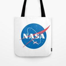 Nasa x Wing fighter Tote Bag