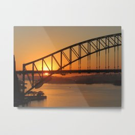 Sydney's Beauty Metal Print