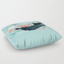 Under the Sea Menagerie Floor Pillow