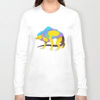 persona Long Sleeve T-shirts featuring Persona - Orthrus by matcha-tiger
