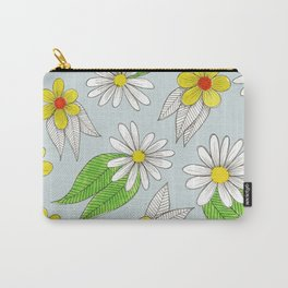 simple bright flowers Carry-All Pouch