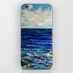 Ocean scenery iPhone & iPod Skin