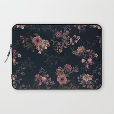 Japanese Boho Floral Laptop Sleeve