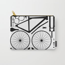 Bike Parts Exploded Carry-All Pouch