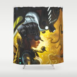 Entoverse Shower Curtain