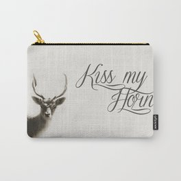 Oh Deer, kiss my horns. Carry-All Pouch